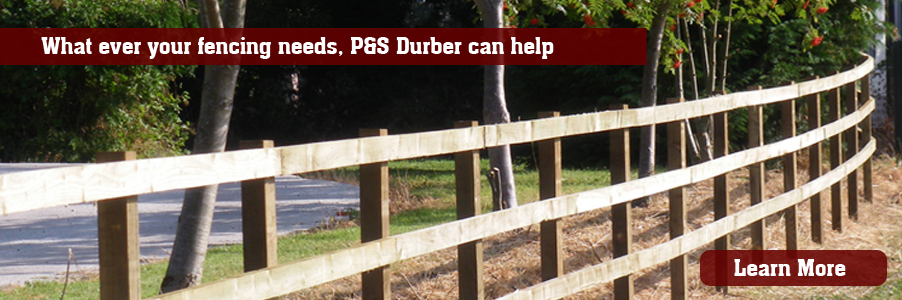 P&S Durber Shropshire Fencing Contractors
