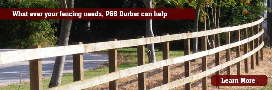 P&S dURBER - Shrophire Fencing Contractors