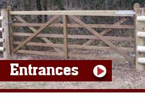P&S Durber Shropshire Fencing Contractors - Drive Entrances and Gateways