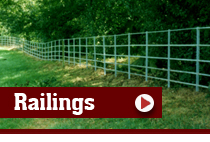 P&S Durber Shropshire Fencing Contractors - Metal Railing